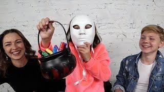 Челлендж 3 Маркера на ХЕЛЛОУИН ПРАНК на Улице с Масками - Вики Шоу