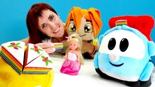 Машинки, Куклы и Маша Капуки.