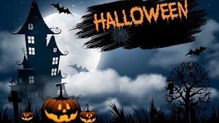 Halloween Night Хэллоуина Ночь с тыквами Хэллоуинская рифма