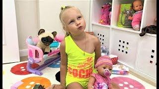 Почему мы ВЫБРОСИЛИ всех кукол Беби БОРН У Алисы новый БЕБИ БОРН Baby Born girl