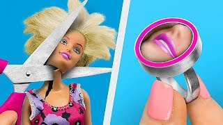 13 лайфхаков для куклы Барби и старых игрушек