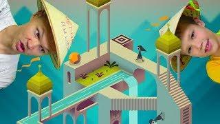 Monument Valley - очень мудреная и интересная игра с иллюзиями