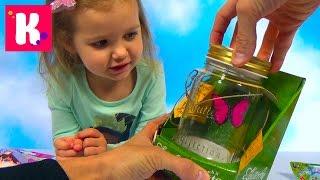 Бабочка в банке Петшоп и Пони Филли распаковка игрушек сюрпризы Pony Butterfly & Litlest Pet Shop