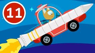 РАКЕТА - Котёнок и волшебный гараж - Мультфильм для детей ...
