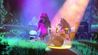 Маша и Медведь - Рок-клип (Хит сезона)