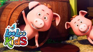 This Little Piggy - Educational Songs for Children LooLoo Kids