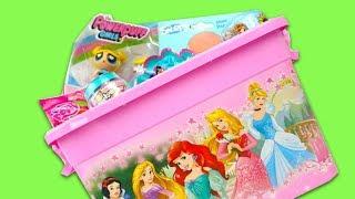Коробка с сюрпризами и игрушками для детеи