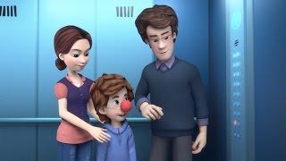Фиксики - Лифт  Познавательные мультики для детей