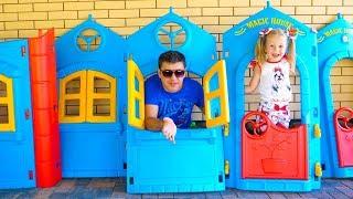 Настя и папа показывают Тур Хаус по нашему дому Влог Nastya