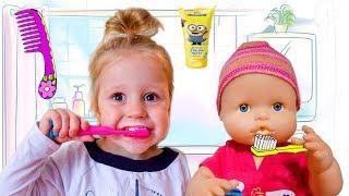 Кукла Беби Бон и её Обычное Утро Рутина