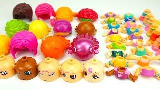 Игрушки Пинипон, создаем разные наряды для кукол