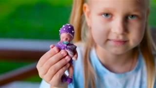 Самая маленькая кукла МИНИ РЕБОРН для Алисы