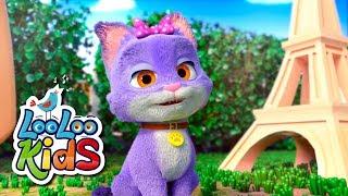 Pussy Cat, Pussy Cat - Nursery Rhymes & Kids Songs LooLoo Kids