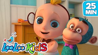 Five Little Monkeys Kids Songs Collection LooLoo KIDS Nursery Rhymes and Childrens Songs