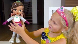Алиса ХРАБРАЯ и СМЕЛАЯ как кукла из мультика Отважная принцесса