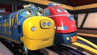 Веселые паровозики из Чаггингтона: Стой, Коко + Сбежавший паровозик. Новые серии!