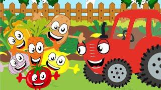 Овощи - Песенка про еду - Песенки для детей Тыр тыр Трактор