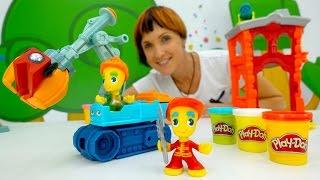 Play-Doh видео для детей - Веселая Школа - Цифры для детей