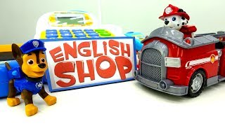 Щенячий патруль учит английский язык Развивающее видео.