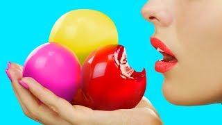 Съедобные игрушки антистресс  7 идей. Съедобные шарики Орбиз