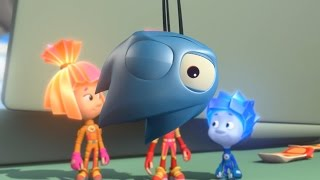 Фиксики - Аэрозоль  Познавательные мультики для детей