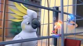 Фиксики - Попугай  Познавательные мультики для детей