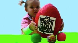 Монстер Хай яйца сюрприз шары игрушки Monstre oeufs levs avec des boules   jouets