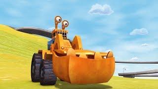 Мультфильмы - ТРАКТАУН - Все серии мультика про машинки для мальчиков