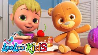 Teddy Bear Learning Kids Songs LooLoo KIDS Nursery Rhymes and Childrens Songs