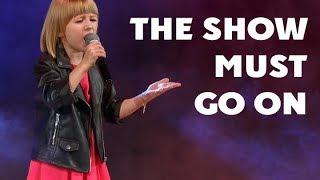 Ярослава Дегтярёва  The Show Must Go On (Творчество за жизнь, Белгород, 30.09.2016)
