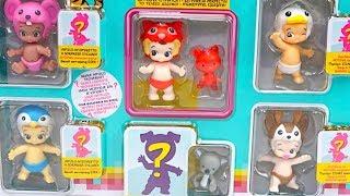 Сюрпризы и игрушки Тузис, распаковываем набор от Twozies