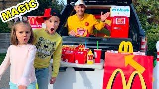 MaGiC McDonalds превратил настоящую еду