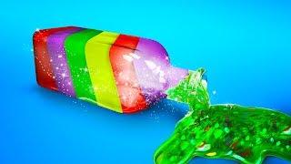 Разноцветный лизун для детей - Игрушкин ТВ