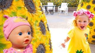 Кукла Беби Бон убежала от Насти в парке Дубай