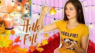 10 Идей осеннего декора  DIY Осенний декор комнаты  Afinka