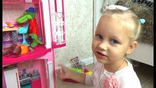Алиса играет  Все хотят жить в доме Барби  Играем в кукол Entertainment for children