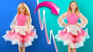 Гигантский антистресс костюм - Как стать Барби