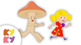Девочка и грибы - КУКУТИКИ - Мультфильм для детей малышей