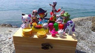 Пиратские приключения, в поисках клада игрушки и сюрпирзы