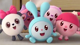 Малышарики 1 серия - Качели - обучающий мультфильм