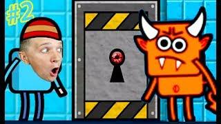 ПОБЕГ из КОМНАТЫ #2 в игре Escape that level - канал FFGTV