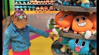Алиса и Лева в классном парке развлечений для детей! IMG park for children!