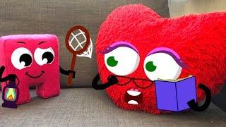 КУБИ и МАША играют в прятки с сюрпризами Мультики для детеи