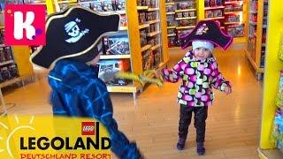 Германия 3 Леголенд шоппинг в Лего Сторе и едем на пару дней в Мюнхен Legoland go to Munich