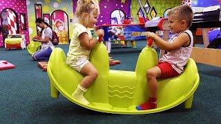 ВЛОГ Наше ВОСКРЕСЕНЬЕ Диана и Рома Play Amusement Park Kids Playroom Игровая Детская Площадка
