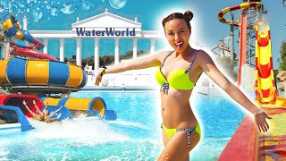 День в АКВАПАРКЕ WaterWorld Waterpark Обзор, Парк развличений - Кипр #5 Elli Di