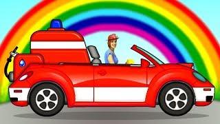 Мультики для малышей - Маша и Пома - Пожарная машина.