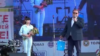 Диана Анкудинова. Поздравление от Главы г. Тольятти и песня (Cover)  Cher - Strong Enough - live