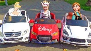 Принцессы Диснея и супер машины Видео для девочек про принцесс Disney Princess Play for girls