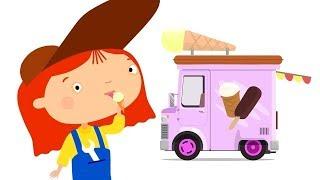 Мультики про машинки - Доктор Машинкова и грузовичок с мороженым!